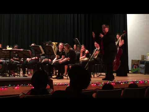 Overhills Middle School's 8th Graders 2017 Christmas Concert