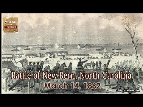 Battle Of New Bern, North Carolina March 14, 1862