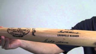 Ted Williams Autographed Bat - Sm Holo
