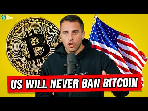 America Will NEVER Ban Bitcoin!