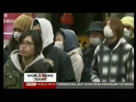 Japan 2011 Earthquake 27 - Aftershock Day 4 (2 of 2) - BBC News Reports 15.03.2011
