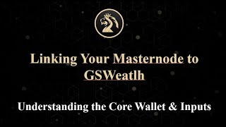 Linking Your Masternode to GSWealth