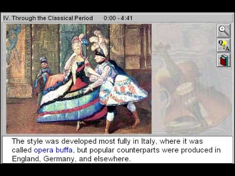 Through the Classical Period of Music Through the Classical Period Part 4