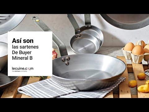 Sartenes de hierro Mineral B de Buyer / Sartenes de hierro para toda la vida