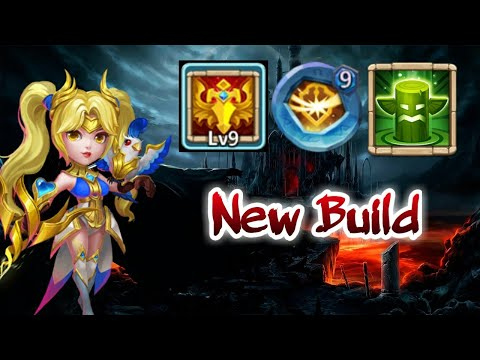 Dove Keeper | 9/9 Blade Dance | 9 Survival | 5/5 Healing Ritual | New Build | Castle Clash