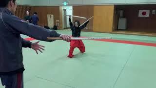 Seina Suzuki's Japanesesword Samurai action.