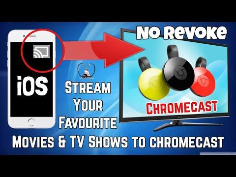 Stream Movies & TV Shows From IOS To Chromecast, NO REVOKE ✔️ No Jailbreak No Computer