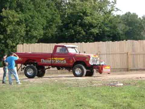 Thunderstruck Truck Pull Ford 477 Open Stock