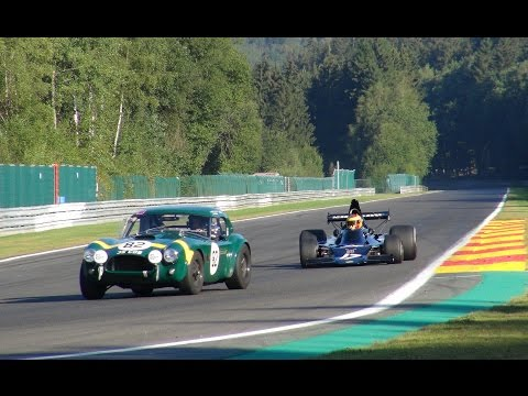 Spa 6 Hours classics 2016 Test day,F1,Le Mans Pure Sounds