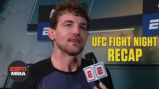 Ben Askren: I became overconfident vs. Demian Maia in Round 3 | UFC Fight Night Post Show | ESPN MMA