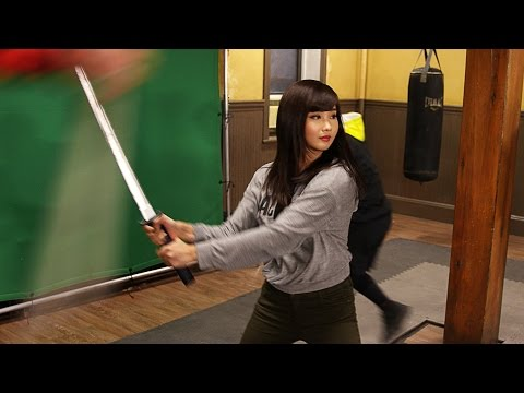 On the set of Netflix Marvel Iron Fist  Alodia