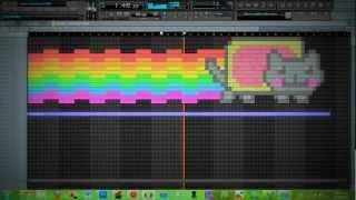 Nyan Cat Fl Studio Draw (Dubstep Nyan Theme)