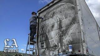 Dirt, Grime, Art: A Box Truck as a Canvas