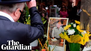 Victoria premier pays tribute to cafe owner killed in Melbourne terrorist attack