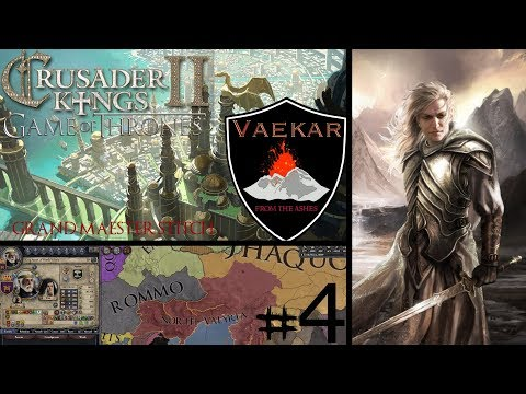 CK2 Game of Thrones | House Vaekar #4 | The First Daughter  - YouTube