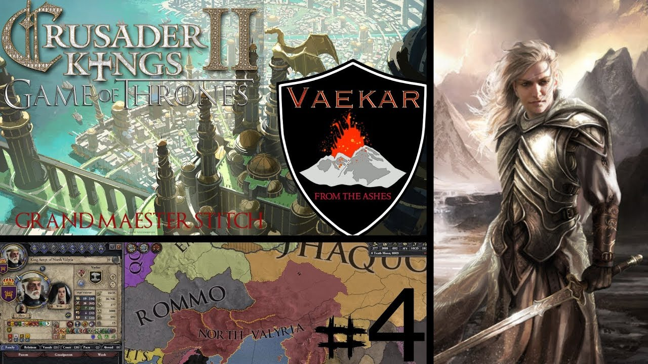 CK2 Game of Thrones | House Vaekar #4 | The First Daughter
