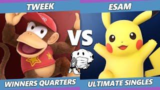 GOML 2020 SSBU - TSM | Tweek (Diddy Kong) Vs. PG | ESAM (Pikachu) Ultimate Winners Quarters