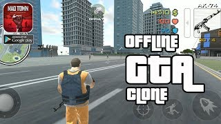 Another GTA Mobile Clone - Mad Town Out of Barbwire Gameplay Android