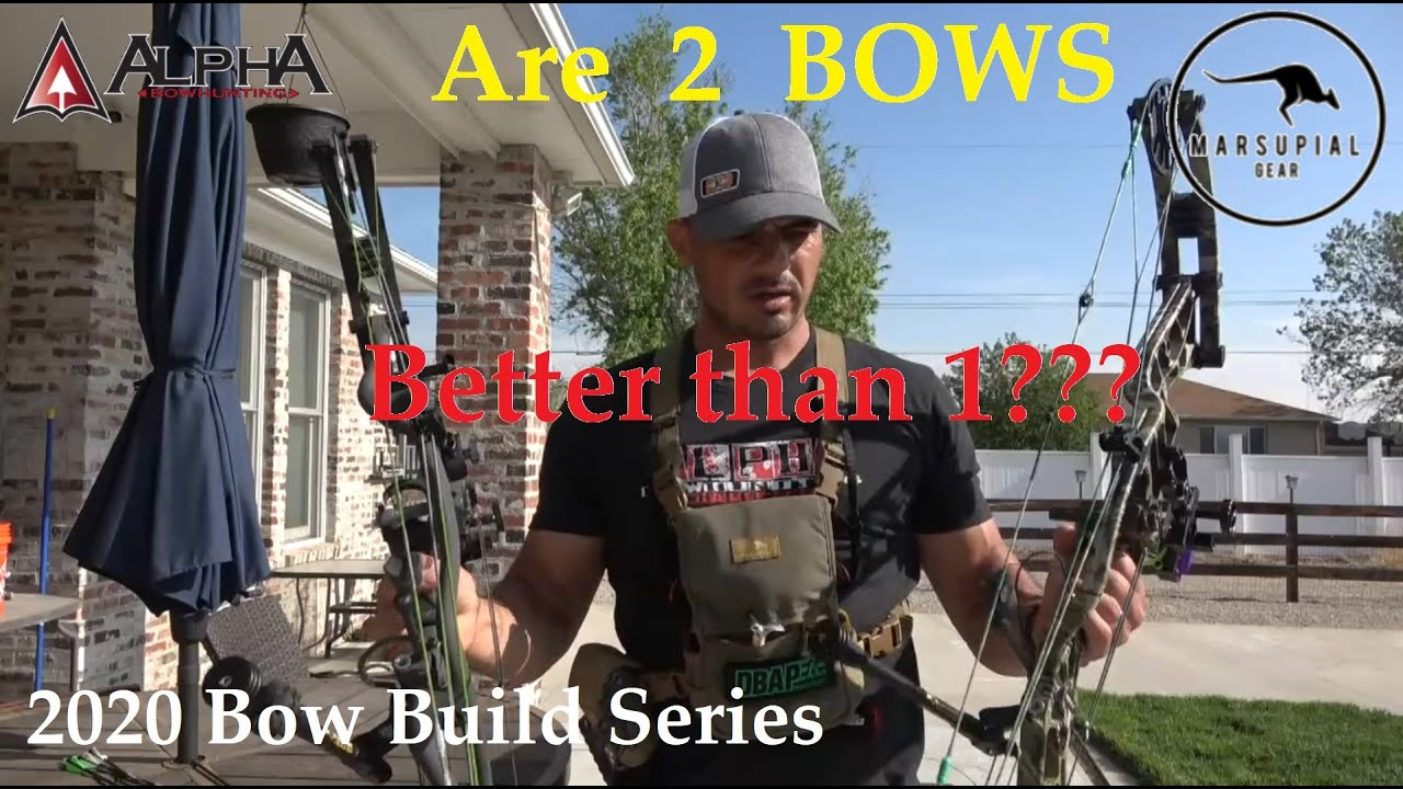 Bow Build 2020- Are 2 bows better than 1??