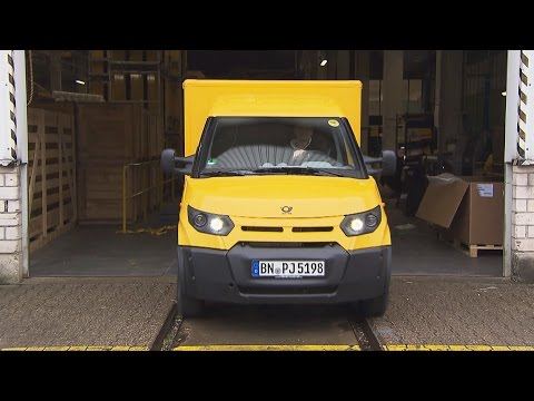 Deutsche Post StreetScooter Produktion Aachen (Deutsch / Ger