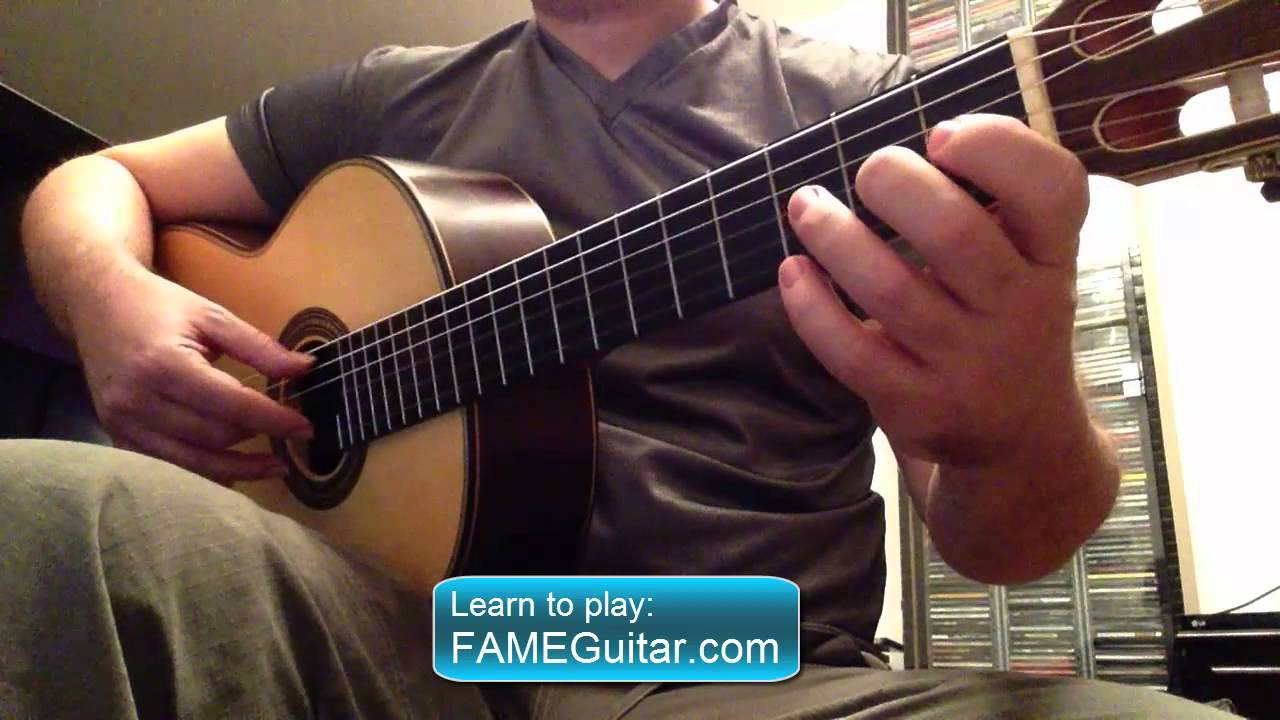 French Traditional For Acoustic Guitar Classic Fingerstyle Youtube