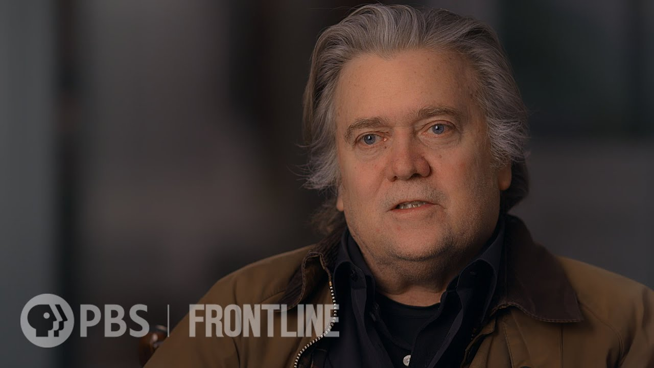 The Frontline Interview Steve Bannon Frontline Pbs Official Site