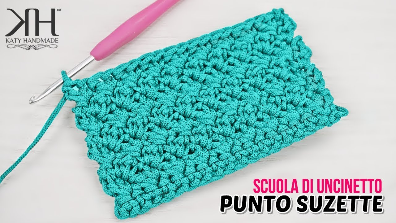 Tutorial Punto Suzettesusanna Uncinetto Suzette Stitch Crochet