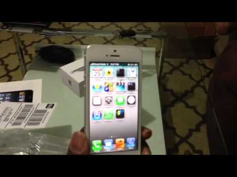iPhone 5 Verizon Unlocked for Any carrier