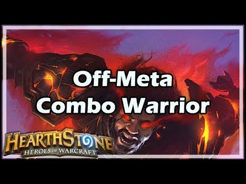 [Hearthstone] The Off-Meta Combo Warrior