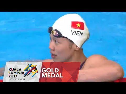 Swimming Women's 200m individual medley finals | 29th SEA Games 2017
