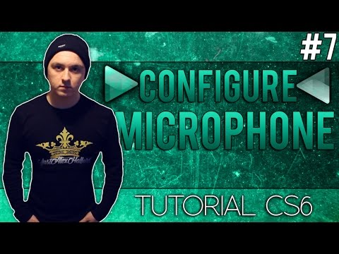 How To Setup A Microphone in Adobe Audition CS6 - Tutorial #7
