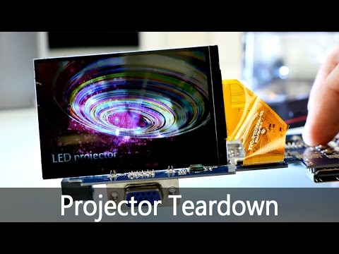 Chinese LED Projector Teardown - What is inside ? [4K]