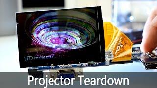 Chinese LED Projector Teardown - What is inside ? [4K](More Teardowns here +++ https://goo.gl/tbpjks LED Projector : http://amzn.to/1PQqTxT ↓↓↓↓↓↓↓↓↓↓↓ LED Projector Excelvan: http://amzn.to/1PQqTxT ..., 2016-02-17T13:29:14.000Z)