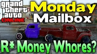GTA Online - Lottery Tickets, Rent Cars & R* Money Whores (Monday Mailbox) [GTA V Multiplayer]