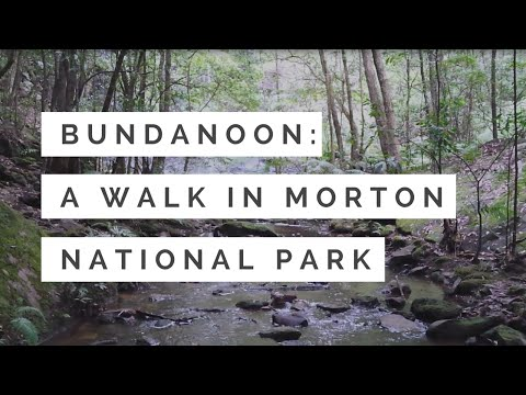 Bundanoon NSW - Erith Coal Mine walk, Morton National Park