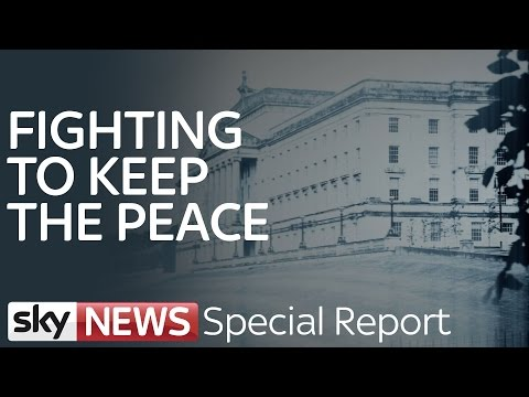 Fighting To Keep The Peace In Northern Ireland | Special Report