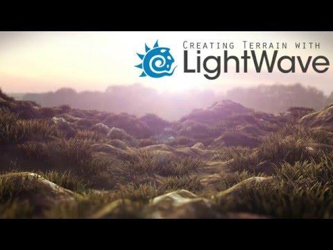 Creating Terrain with Lightwave 3d