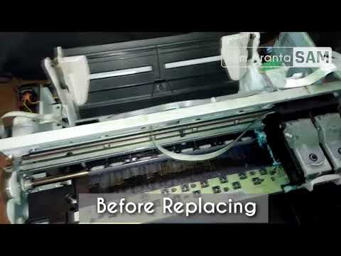 How To Fix Error E03 In Canon Mp287 Paper Not Detected Youtube