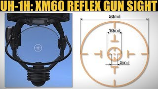 UH-1H Huey: XM60 Reflex Sight Tutorial | DCS WORLD