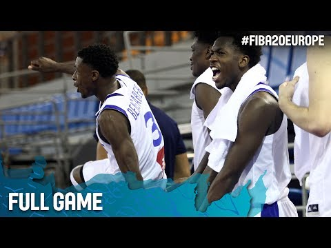 France v Turkey - Full Game - FIBA U20 European Championship 2017