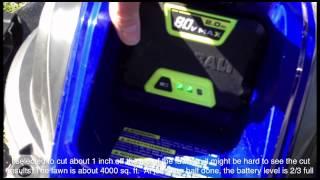 Kobalt 21 inch mower