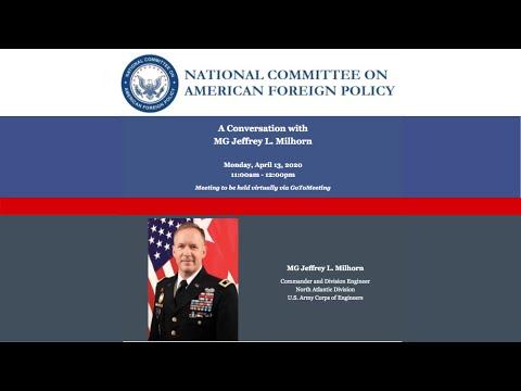 Conversation With Major General Jeffrey L. Milhorn
