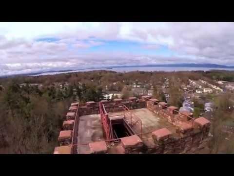 Ethan Allen Tower Burlington VT  DJI Phantom