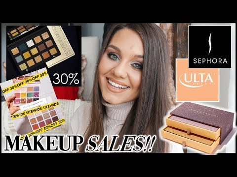 INSANE BLACK FRIDAY MAKEUP SALES - ULTA, SEPHORA & MORE! thumbnail