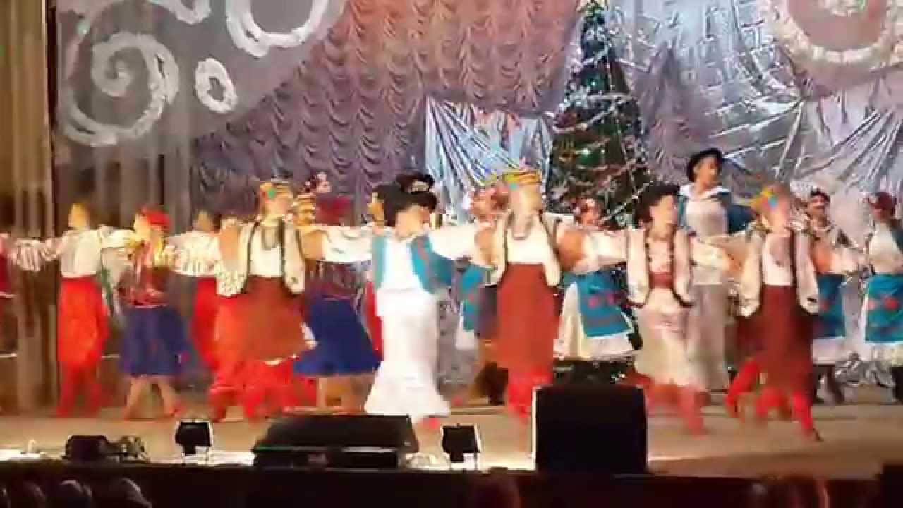 видео танцевального коллектива радость
