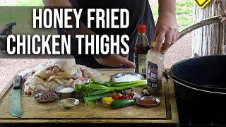 Honey Fried Chicken Thighs