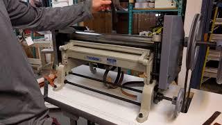 Splitting Leather on the TechSew SP-20 Leather Splitting Machine