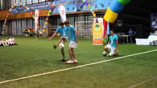 Футбольный фристайл | Выступление на футбольном турнире | MOSCOWFF