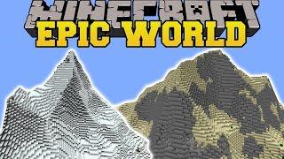 Minecraft: EPIC WORLD MOD (MAKE YOUR WORLD LOOK AWESOME!) Mod Showcase