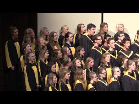 What a Day That Will Be. CCHS combined choirs 2016